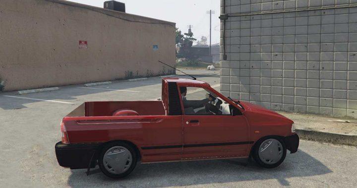 خودرو پراید 151 برای GTA V