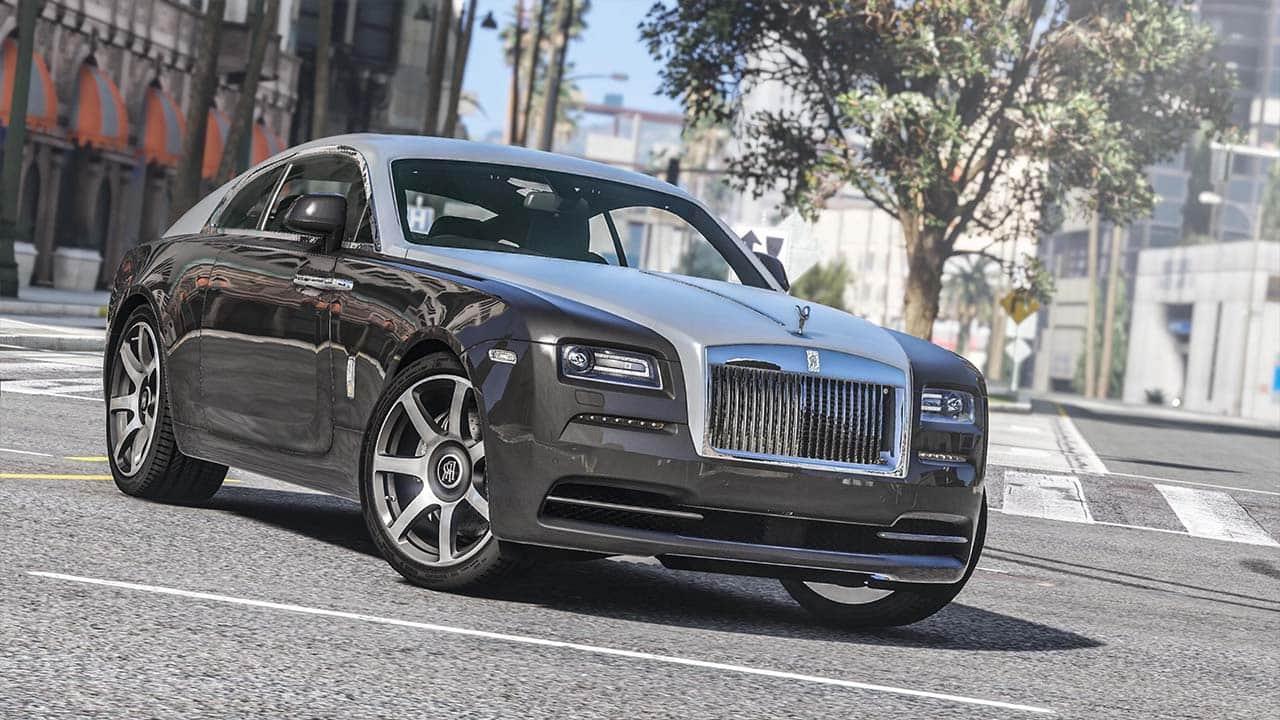 خودرو Rolls Royce Wraith برای GTA V