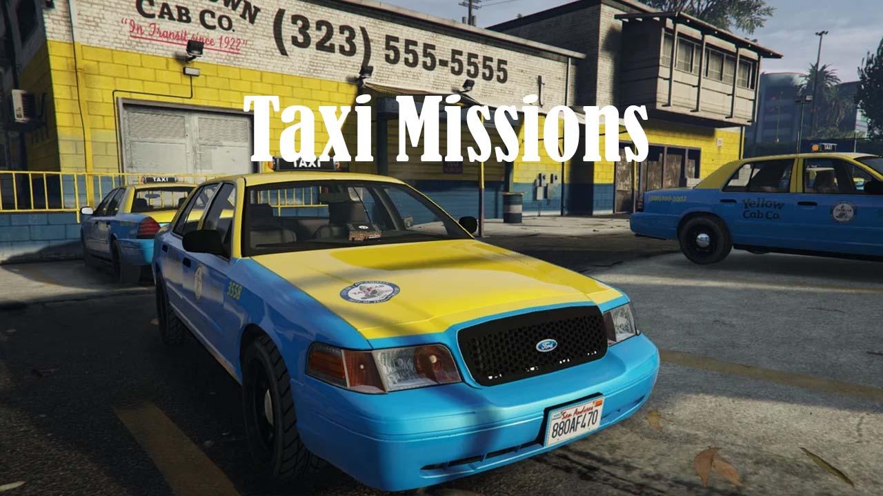 مد تاکسیرانی برای GTA V