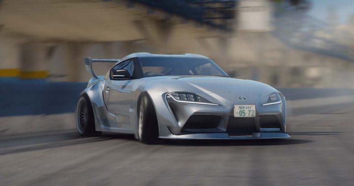 خودرو Toyota GR Supra CSR2 برای GTA V