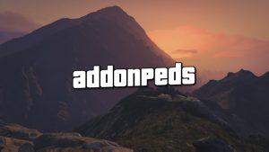 افزونه AddonPeds برای GTA V