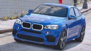 خودرو BMW X6M F16 برای GTA V