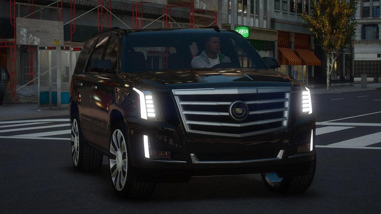 خودرو Cadillac Escalade 2015 برای GTA V