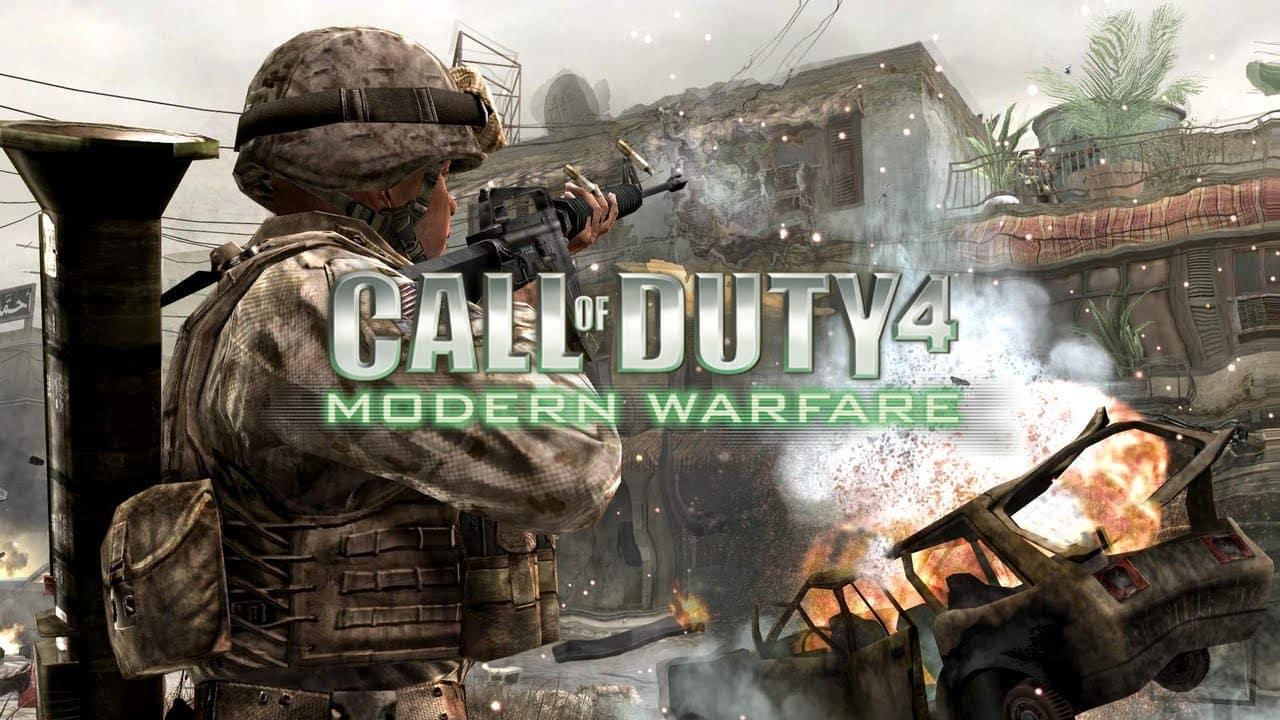 ترینر بازی Call of Duty 4 Modern Warfare
