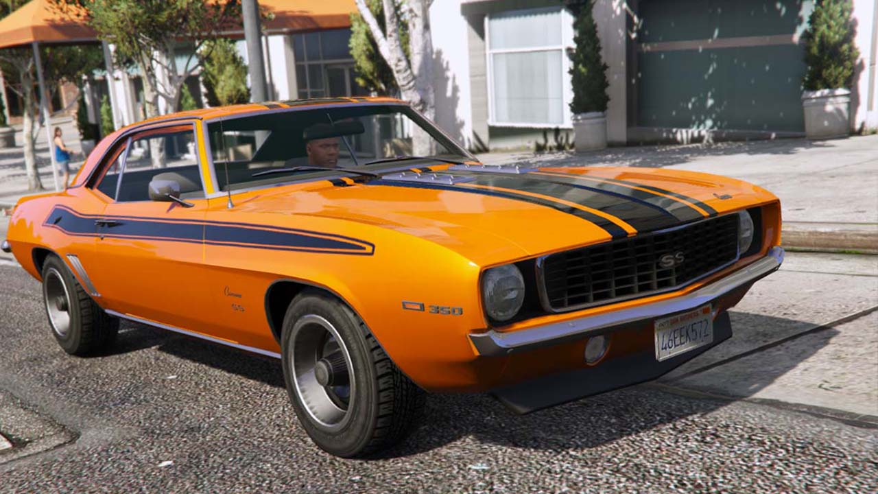 خودرو Chevrolet Camaro SS 350 1969 برای GTA V