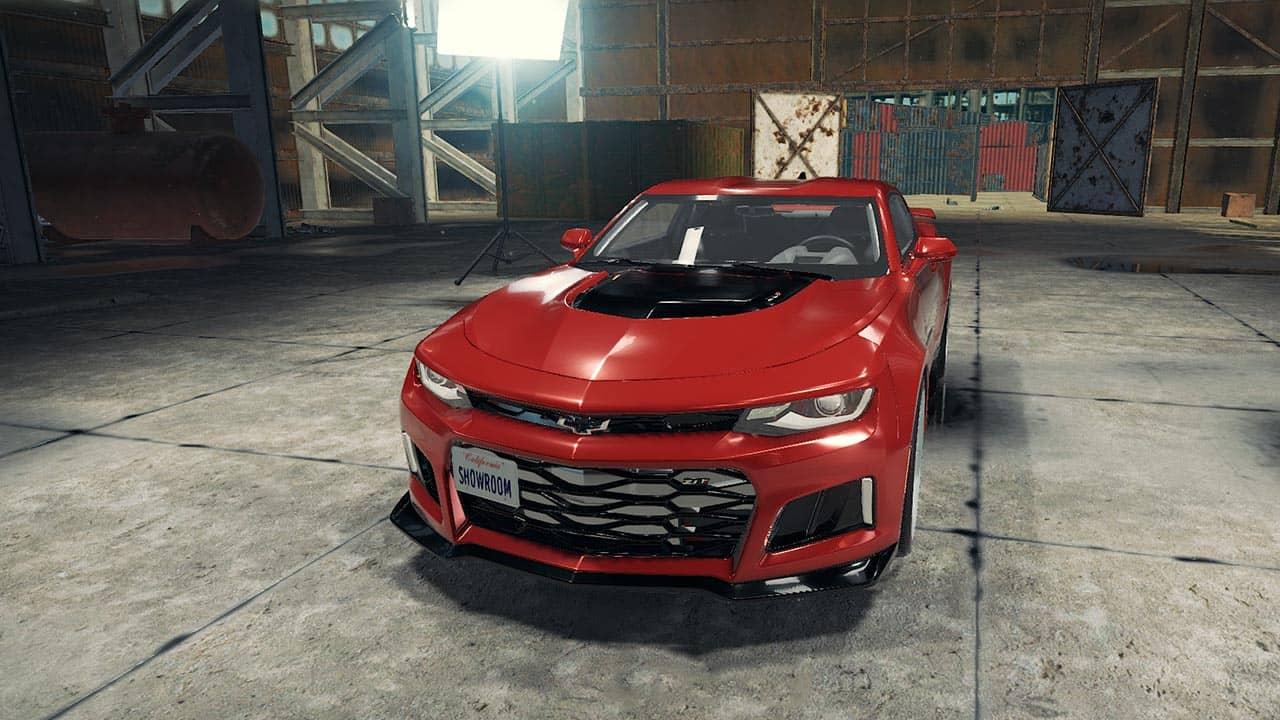 خودرو Chevrolet Camaro ZL1 2017 برای CMS 2018