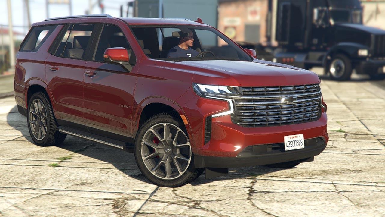 خودرو Chevrolet Tahoe RST 2021 برای GTA V
