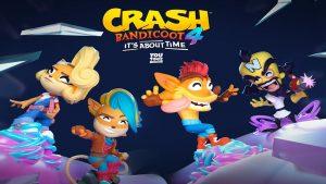 سیستم مورد نیاز Crash Bandicoot 4 Its About Time