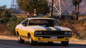 خودرو Dodge Challenger RT 1970 برای GTA V