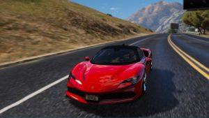 خودرو Ferrari SF90 Stradale 2020 برای GTA V