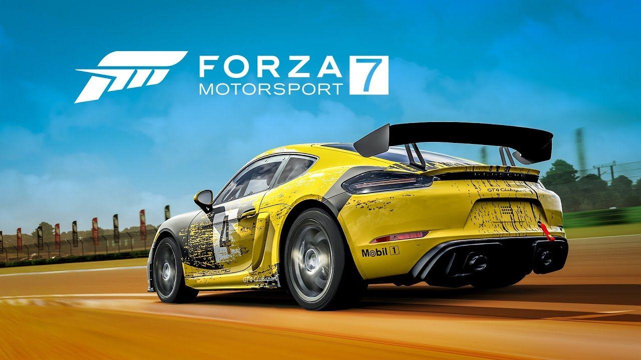 ترینر بازی Forza Motorsport 7