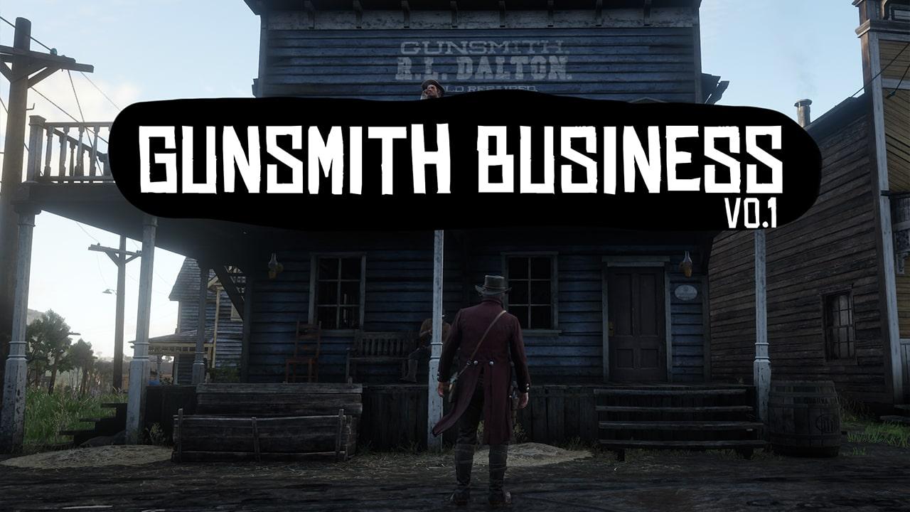 مد تجارت اسلحه فروشی برای Red Dead Redemption 2