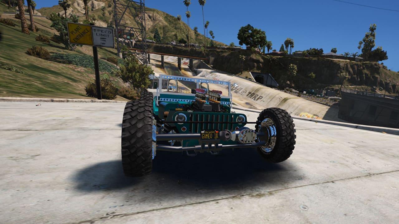 خودرو Jeep Willys MB Hot Rod برای GTA V