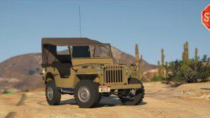 خودرو Jeep Willys MB برای GTA V