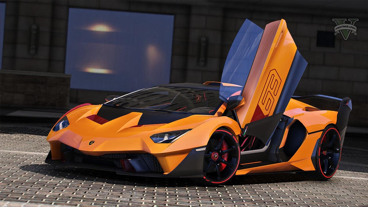 خودرو Lamborghini SC18 Alston 2019 برای GTA V