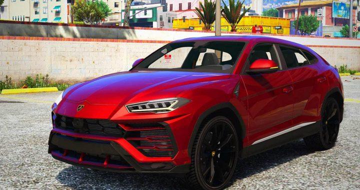 خودرو Lamborghini Urus برای GTA V