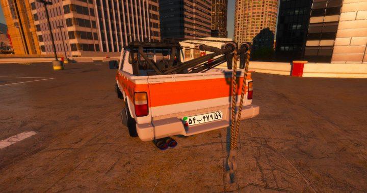 خودرو نیسان یدک کش برای GTA V