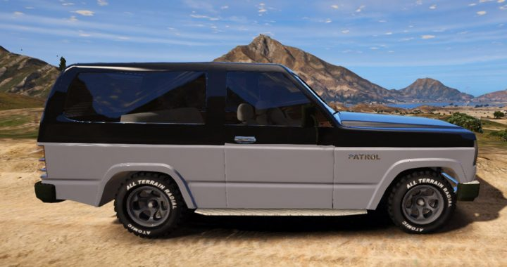 خودرو پاترول 160 دو در برای GTA V