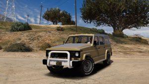 خودرو پاترول 160 چهار در برای GTA V