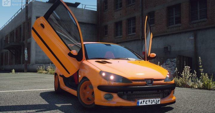 خودرو پژو 206 GTI برای GTA V