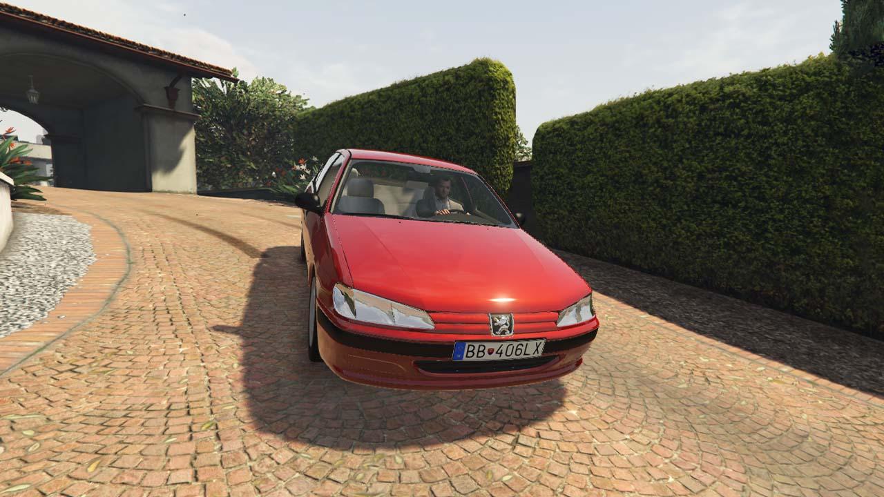 خودرو پژو 406 برای GTA V