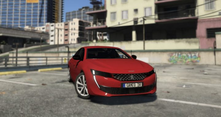 خودرو Peugeot 508 برای GTA V