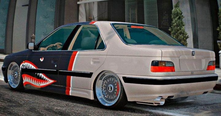 خودرو پژو پارس برای GTA V