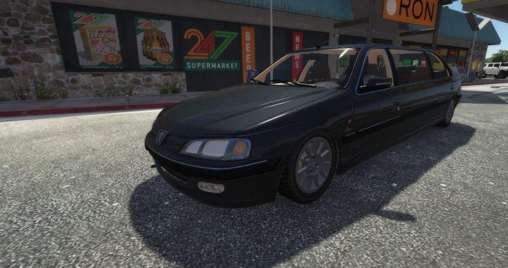 خودرو پژو پارس لیموزین برای GTA V