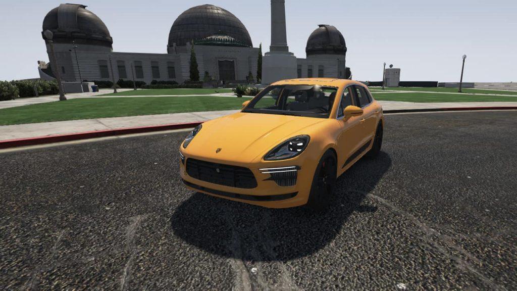 خودرو Porsche Macan 2019 برای GTA V
