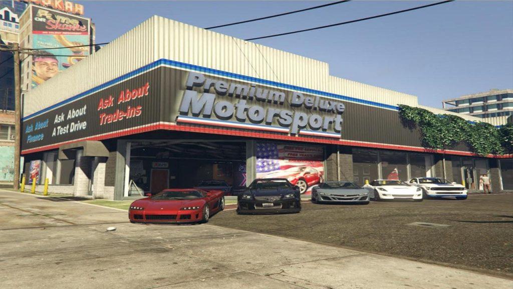 مد Premium Deluxe Motorsport برای GTA V