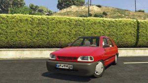 خودرو پراید 131 اسپرت برای GTA V