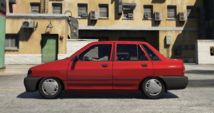 خودرو پراید صبا برای GTA V