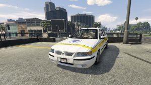 خودرو سمند امداد خودرو برای GTA V