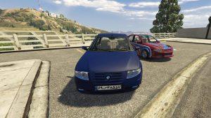 خودرو سمند سورن برای GTA V