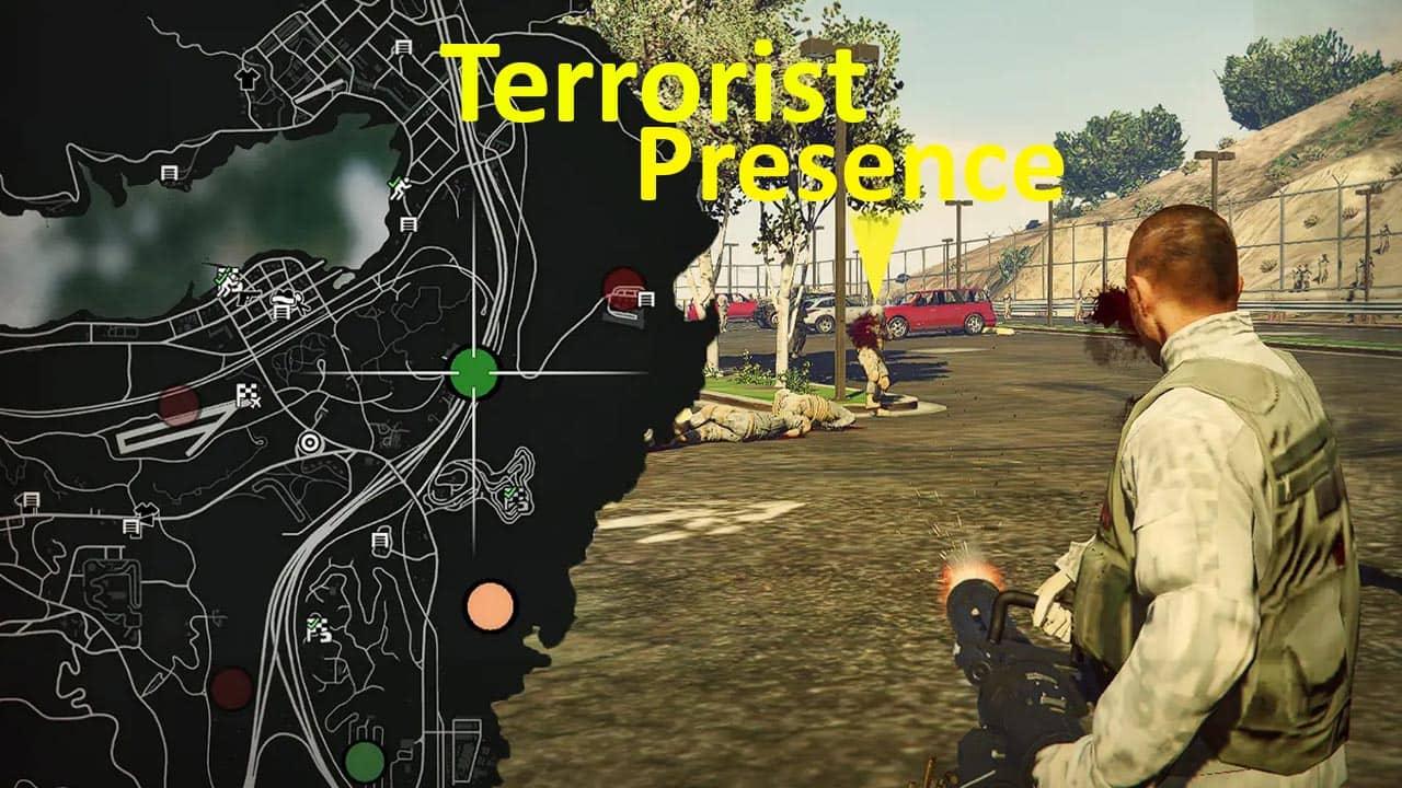مد منطقه تروریستی برای GTA V
