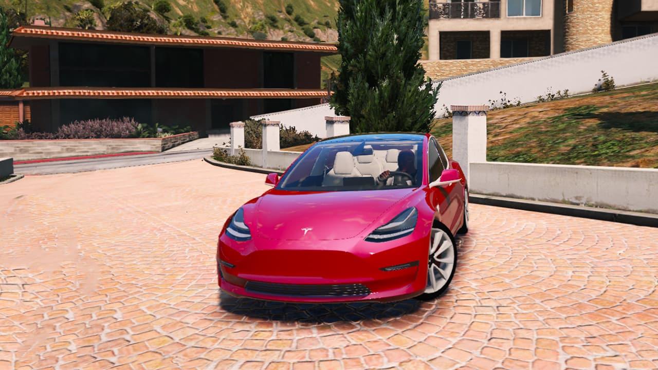 خودرو Tesla Model 3 برای GTA V