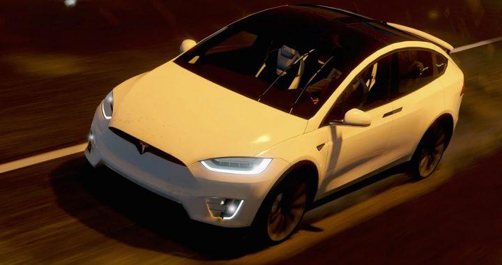 خودرو Tesla Model X برای GTA V