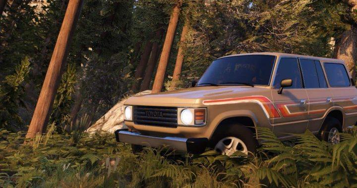 خودرو Toyota Land Cruiser 1986 برای GTA V