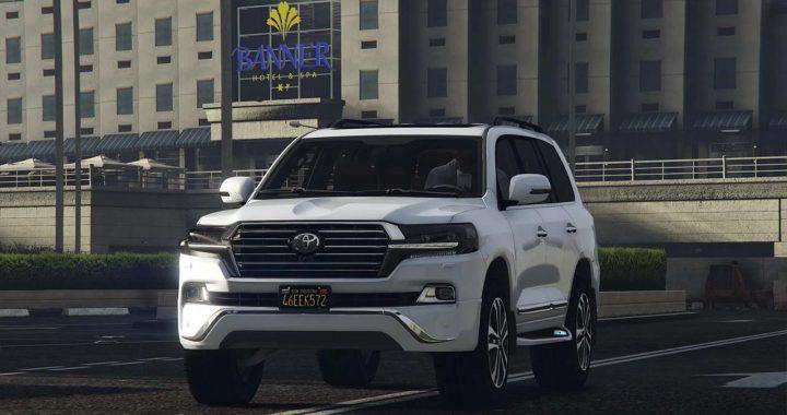خودرو Toyota Land Cruiser 2019 برای GTA V