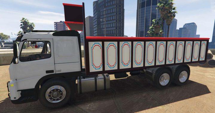 کامیون Volvo FM 340 برای GTA V