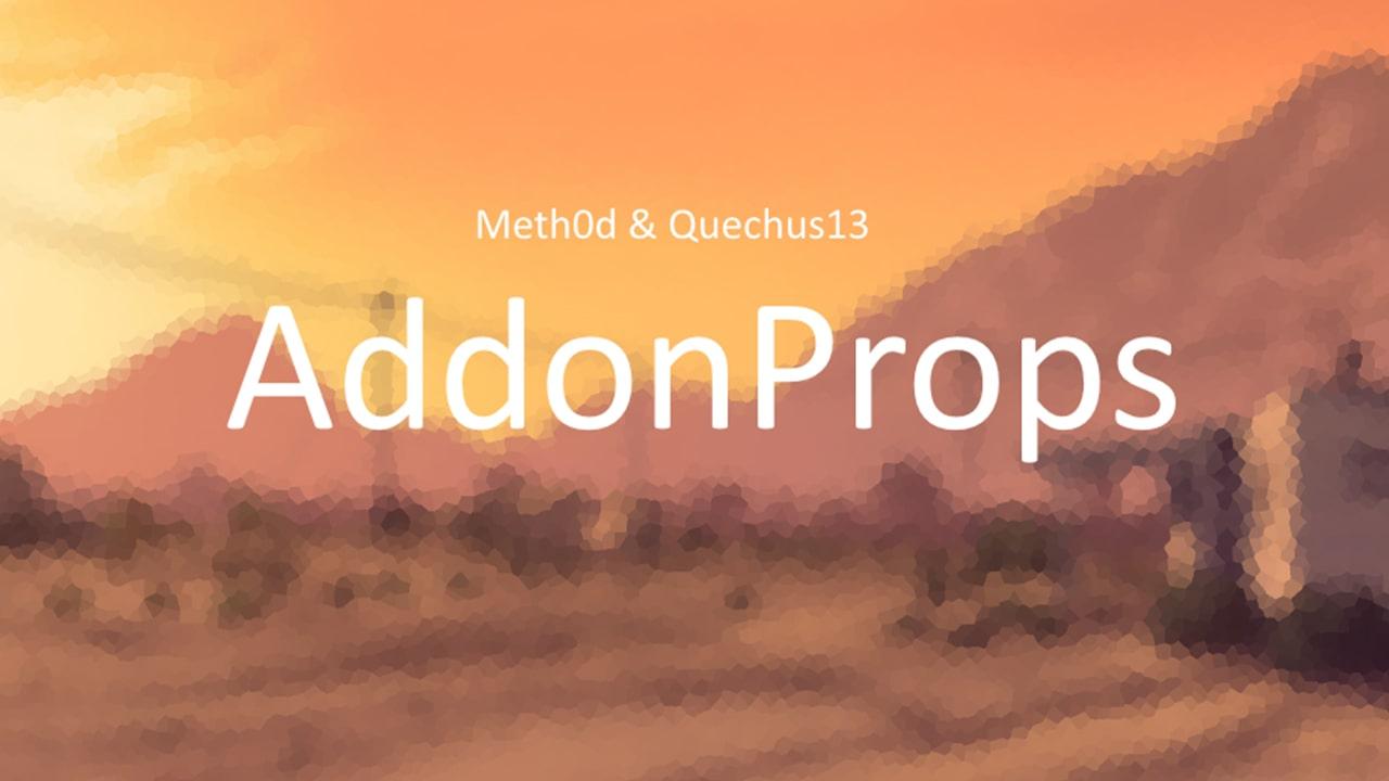 افزونه AddonProps برای GTA V