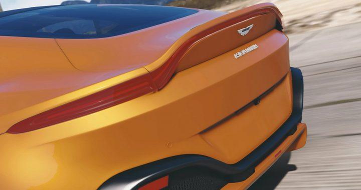 خودرو Aston Martin Vantage 2019 برای GTA V