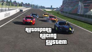 مد Autosport Racing System برای GTA V
