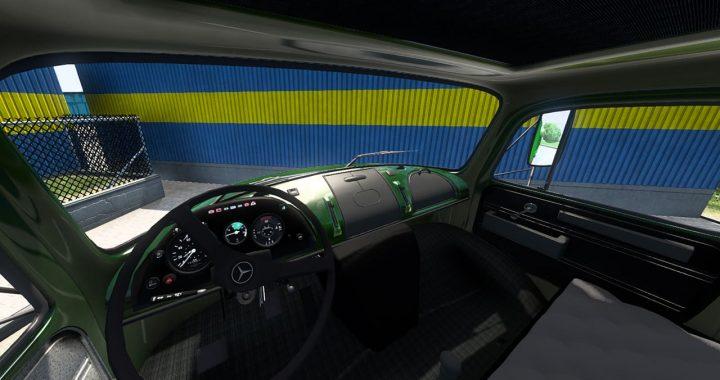 مد کامیون بنز 911 برای Euro Truck Simulator 2