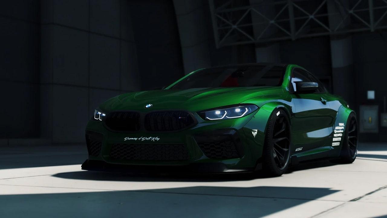 خودرو BMW M8 Competition برای GTA V
