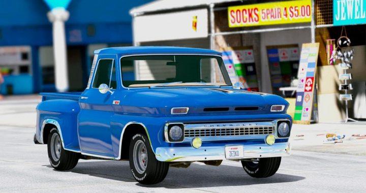 خودرو Chevrolet C10 1966 برای GTA V