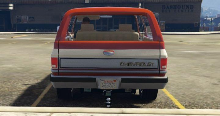 خودرو Chevrolet K5 Blazer 1986 برای GTA V