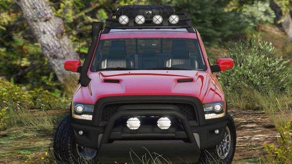 خودرو Dodge Ram Rebel 2016 برای GTA V