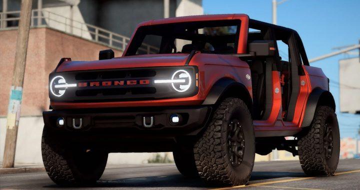 خودرو Ford Bronco Wildtrak 2021 برای GTA V