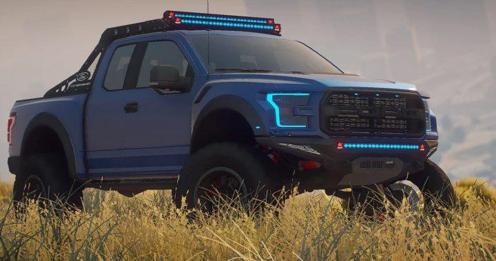 خودرو Ford Raptor Scorpio Edition 2017 برای GTA V